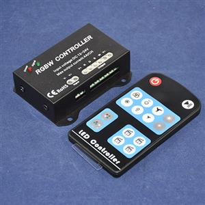 DC12-24V 4*4A 192W-384W rgbw 4 channel led controller for